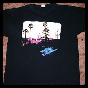 Vtg 2010 Eagles Concert Tour Dates T-shir Black
